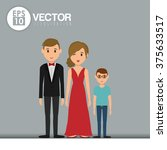 family icon design  | Shutterstock .eps vector #375633517