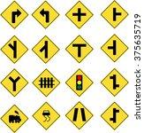 traffic sign | Shutterstock .eps vector #375635719