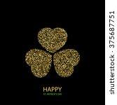 vector modern happy saint... | Shutterstock .eps vector #375687751