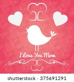 happy mothers day design  | Shutterstock .eps vector #375691291