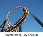 rollercoaster | Shutterstock . vector #37570168