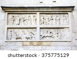 stone sculptures on the... | Shutterstock . vector #375775129