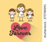 love card design  | Shutterstock .eps vector #375780091