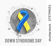 world down syndrome day. | Shutterstock .eps vector #375799051