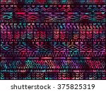 ethnic style background. tribal ... | Shutterstock .eps vector #375825319