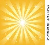 Golden Rays Shining Stars. Fla...