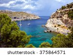 Small photo of Anthony Quinn Bay on the island of Rhodes, Greece