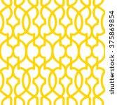 moroccan trellis pattern... | Shutterstock .eps vector #375869854