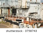 old rusty ship in port | Shutterstock . vector #3758743