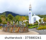 Cilaos  Reunion Island  France...
