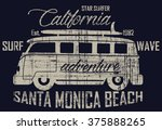 surf bus california santa...