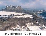 table mountain pfaffenstein in... | Shutterstock . vector #375906631