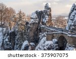 Bastei Bridge In Saxon...