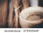 wicker wood texture  portugal   ... | Shutterstock . vector #375935449