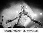 villafranca di verona  italy on ... | Shutterstock . vector #375990031