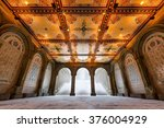 low angle view of the bethesda... | Shutterstock . vector #376004929