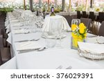 table prepared in the... | Shutterstock . vector #376029391