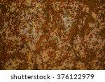 metal rust  brown background | Shutterstock . vector #376122979
