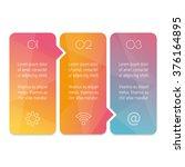 vector paper progress steps for ... | Shutterstock .eps vector #376164895