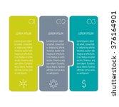 vector paper progress steps for ...   Shutterstock .eps vector #376164901