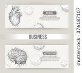 abstract creative concept...   Shutterstock .eps vector #376187107