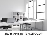 a row of tables leading to... | Shutterstock . vector #376200229