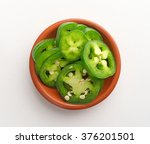 Top View Of A Small Bowl Of...