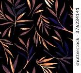 leaves pattern | Shutterstock . vector #376234141