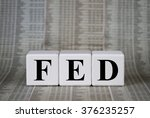 federal reserve system | Shutterstock . vector #376235257