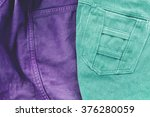 Denim Texture Fabric With...
