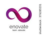 vector logo concept for... | Shutterstock .eps vector #376285231