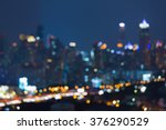 Abstract Blurred Bokeh Lights...