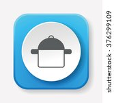 pot icon | Shutterstock .eps vector #376299109
