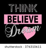 shiny and lovely slogan graphic ... | Shutterstock . vector #376310611