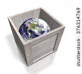 3d global transport concept... | Shutterstock . vector #376314769
