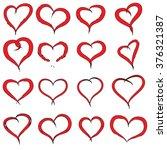 vector concept conceptual... | Shutterstock .eps vector #376321387