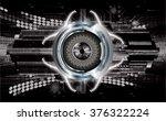 dark black silver light... | Shutterstock .eps vector #376322224