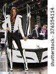 paris  france   march 2nd ... | Shutterstock . vector #376354114