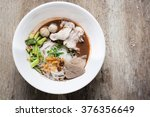 thai style noodle bowl of thai... | Shutterstock . vector #376356649