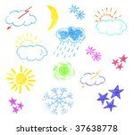 icon illustration of various... | Shutterstock . vector #37638778