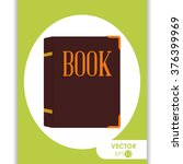 book icon design  | Shutterstock .eps vector #376399969