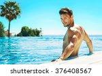 portrait of handsome man in... | Shutterstock . vector #376408567