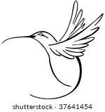 hummingbird | Shutterstock . vector #37641454