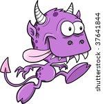 monster vector illustration | Shutterstock .eps vector #37641844
