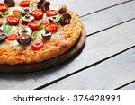 Tasty Fresh Pizza Decorated...
