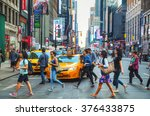 new york city   september 4 ... | Shutterstock . vector #376433875