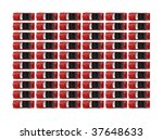 red convertibles in rows | Shutterstock . vector #37648633
