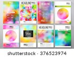 set of business templates for... | Shutterstock .eps vector #376523974