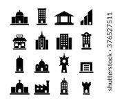 building vector set | Shutterstock .eps vector #376527511