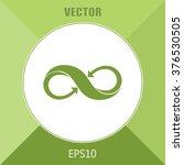 infinity sign | Shutterstock .eps vector #376530505